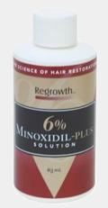 Миноксидил 6, миноксидил для лобных залысин
